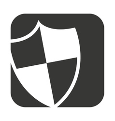 Safe secure shield security isolated icon vector