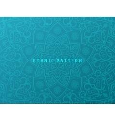 Ethnic background vintage pattern mandala vector