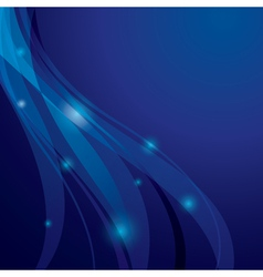 abstract background with transparent curved lines vector image