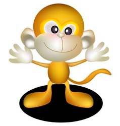 golden monkey vector image