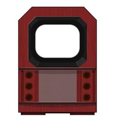 artwork old tv vector image