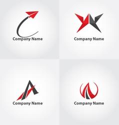 A symbol logo vector