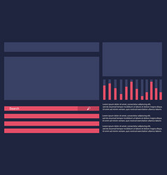 Graphic design background business infographic vector