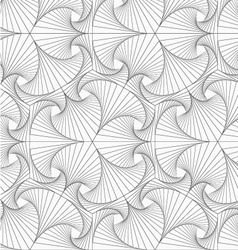 Gray striped overlapping shapes vector