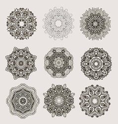 Mandala collection10 vector