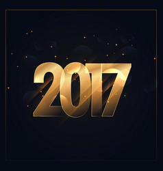2017 background for new year celebration vector