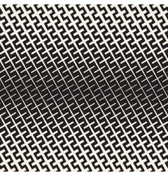Cross Shapes Halftone Lattice Seamless vector image