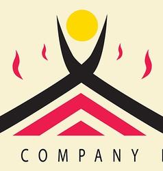 Logo solution vector