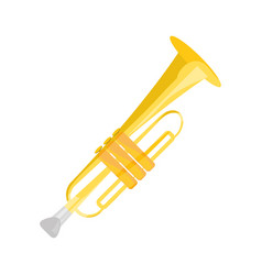 Trompette music instrument vector