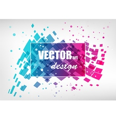 Abstract colorful business template vector