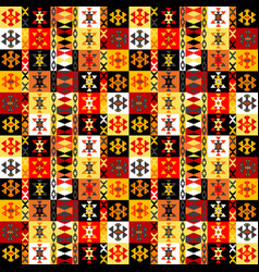 Colorful ethnic motifs background vector