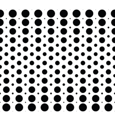 Seamless background pattern with dots vector