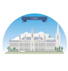 Vienna vector image vector image