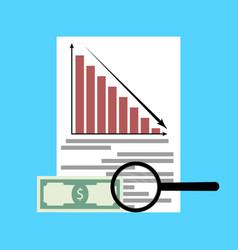 Analysis of financial crisis vector