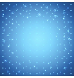 Cute star background vector