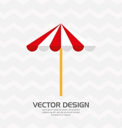 Beach icon design vector