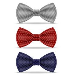 bow tie 03 vector image vector image