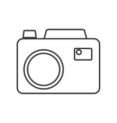 Camera gadget electronic design vector