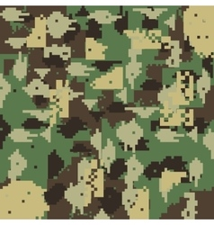 Camouflage backgrund pattern icon vector