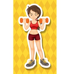 Exercising vector image