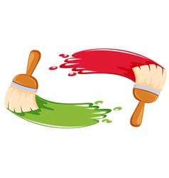 Paint brush stroke vector