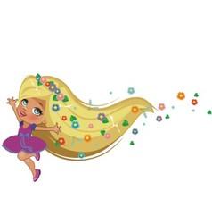 Rapunzel vector