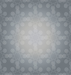 Pattern white on grey vector
