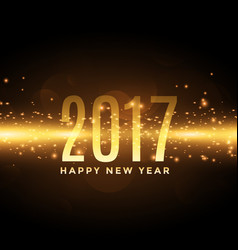 2017 celebration background with lights effect vector