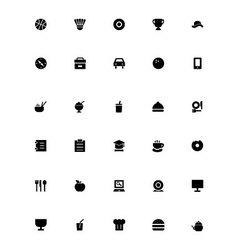 Mini icons 20 vector