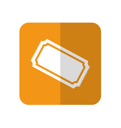 cinema ticket icon vector image vector image