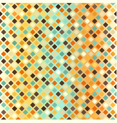 Diamond retro pattern seamless glowing background vector