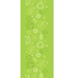 Environmental vertical seamless pattern background vector