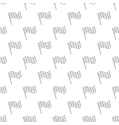 Flag pattern seamless vector image