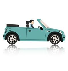 Mini Car vector image vector image