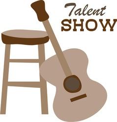 Talent show vector