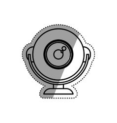 Webcam computer device vector image