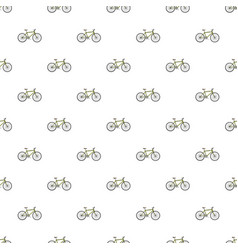 Bike pattern vector