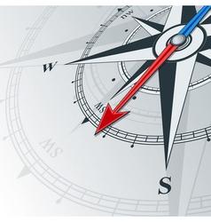 Compass southwest vector