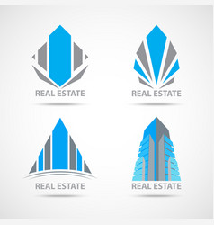 business construction symbol and icons vector image