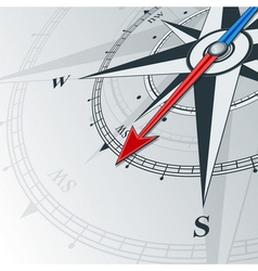 compass southwest vector image