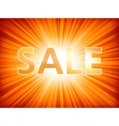 shopping sale poster vector image