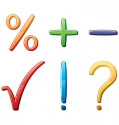 symbols vector image vector image