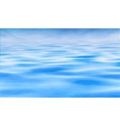 Water horizon vector