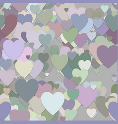 Seamless valentines day background pattern vector