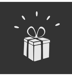 Gift symbol vector