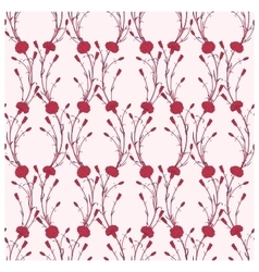 Seamless pattern of cloves vector