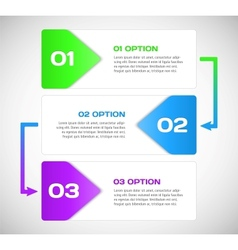 One two three - progress steps vector