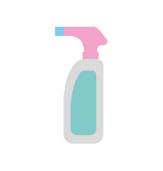 bottle with sprinkler icon vector image