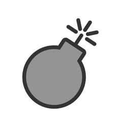 Danger of explosion vector