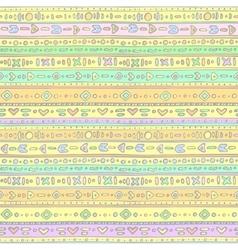 Gentle ethno background vector